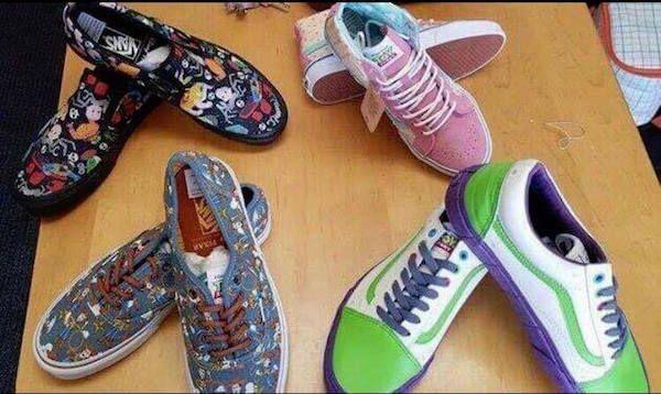 c0936c04c Disney x Vans Introduces New Shoe Styles For Pixar s Toy Story ...