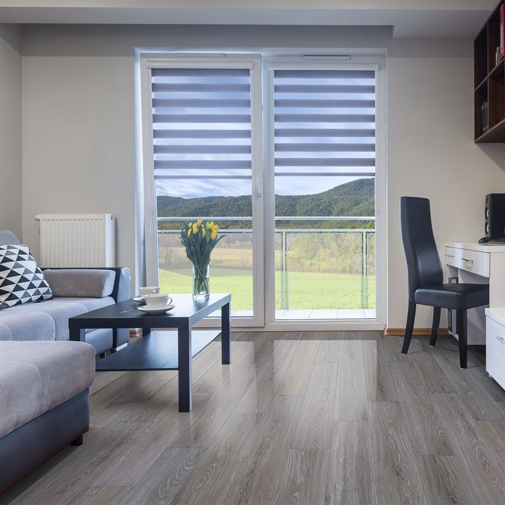 DURACLIC Riverstone Oak 6mm Luxury Vinyl Plank Flooring