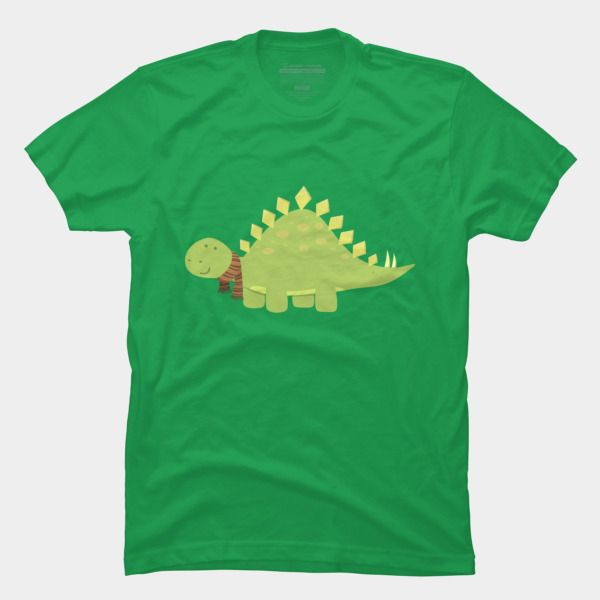 ScarfTegosaurus T Shirt By AnishaCreations Design By Humans