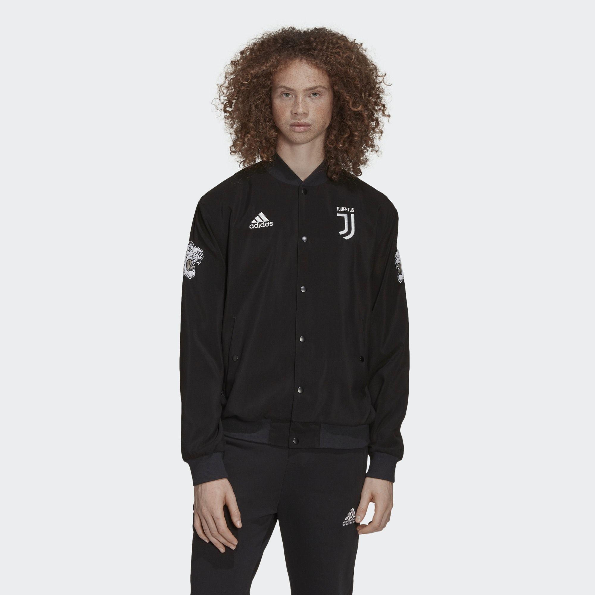 Adidas Juventus CNY Jacket Black #juve #juventus | Jackets