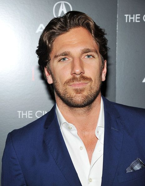 Henrik Lundqvist In The Cinema Society Acura Host A Screening Of