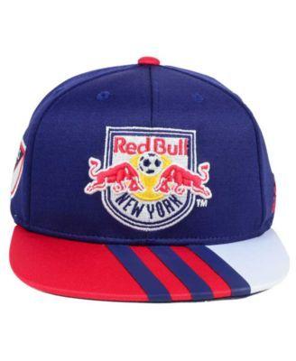 0f7b023b6fc53 adidas Kids  New York Red Bulls Authentic Snap Cap - Red Adjustable ...