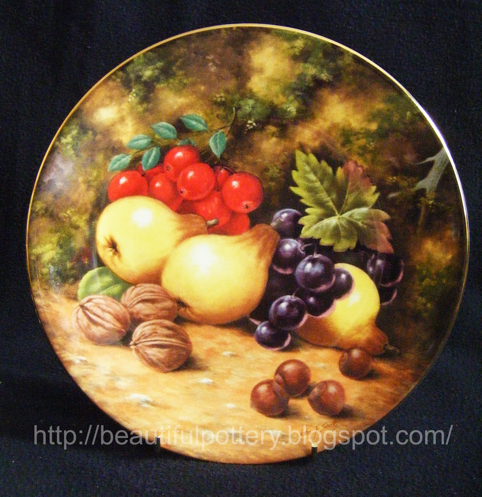 Royal Albert Wall Plates Each Hand Painted by artist & signed ...