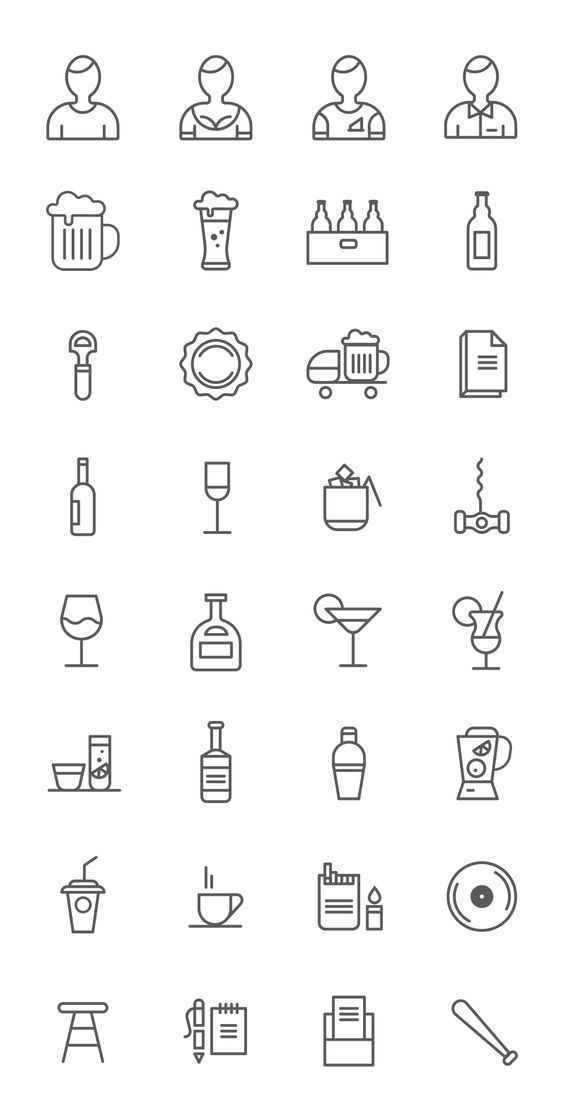 Free Bar Icons | sm-artists.com: | идеи | Pinterest