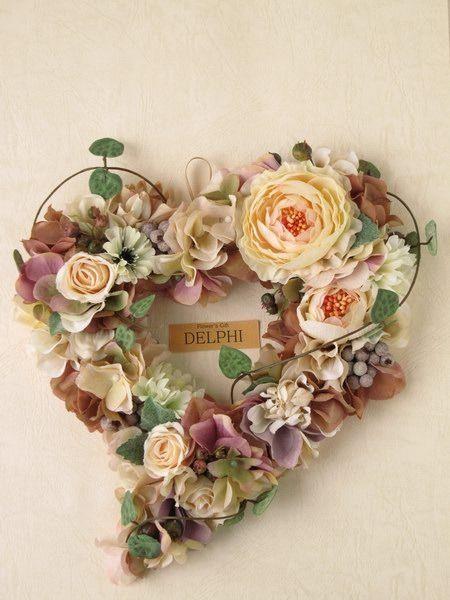 Delphi デルフィ さんの作品一覧 ハートリース バレンタイン 花