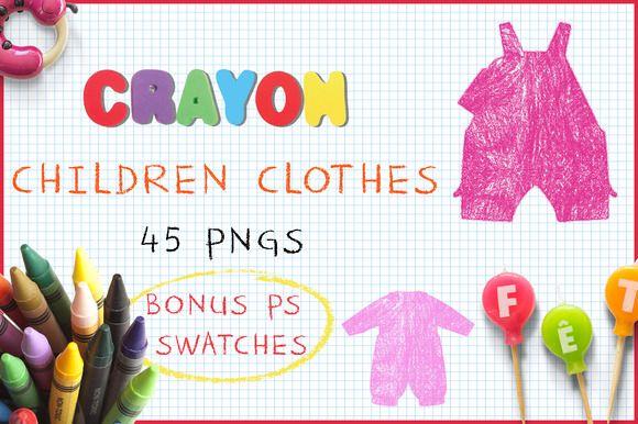 Crayon Children's Clothes @creativework247