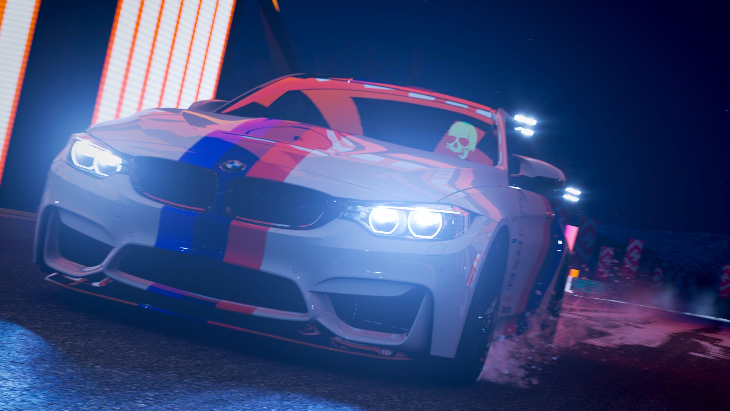Car Night Led Headlight Bmw Bmw M4 M4 Vehicle Video Games Forza Forza Games Forza Horizon Forza Horizon 4 2k Wallpaper Hdwallpape Bmw M4 Bmw Car Night