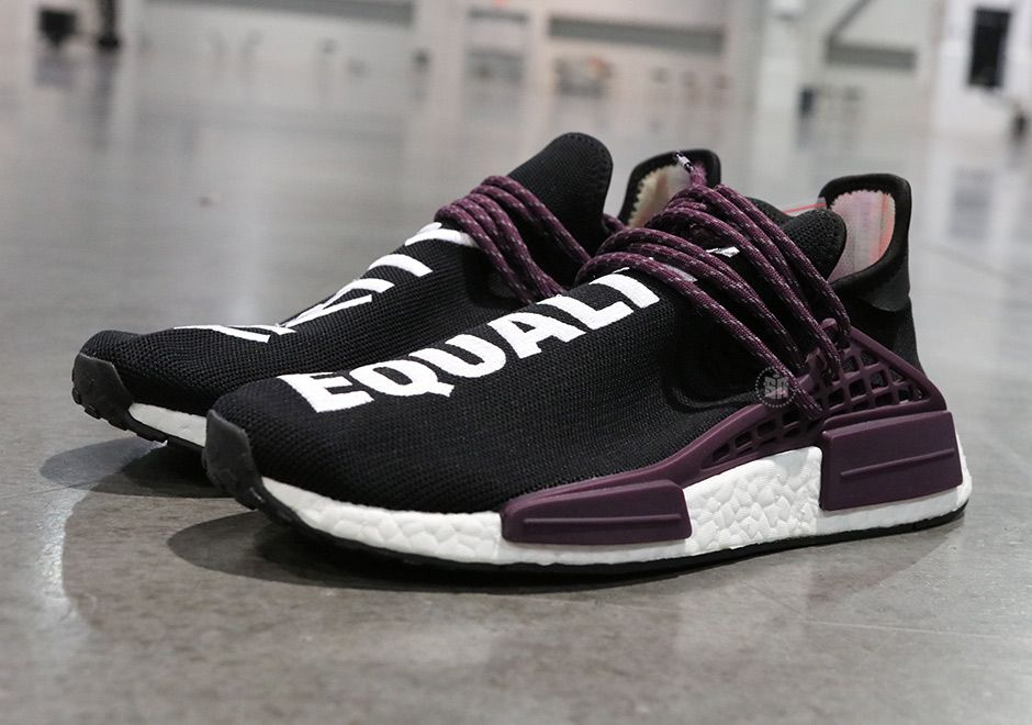 buy online 5d9a1 7428d The hit factory that is the Pharrell and adidas collaboration is set to  keep momentum going in early 2018 with the release of a collection of  adidas NMD ...