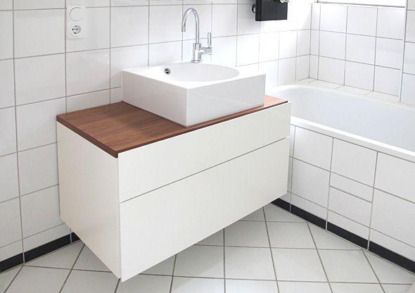 Hervorragend Badezimmer Unterschrank, Lackieren, Treppe, Zuhause, Raum, Wohnen, Neue Wege