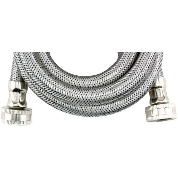 Certified Appliance Accessories Wm72ss Braided Stainless Steel Washing Machine Hose Stainless Steel Washing Machine Washing Machine Hose Appliance Accessories
