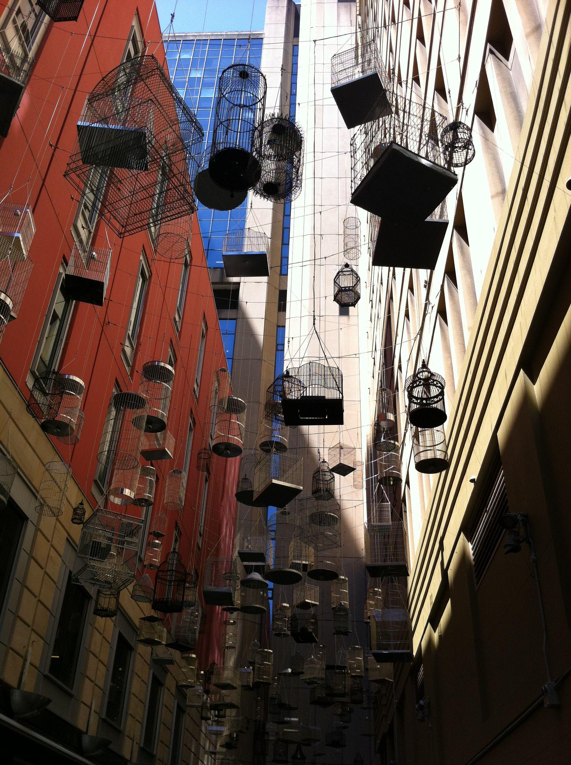 Bird cage alley - Sydney