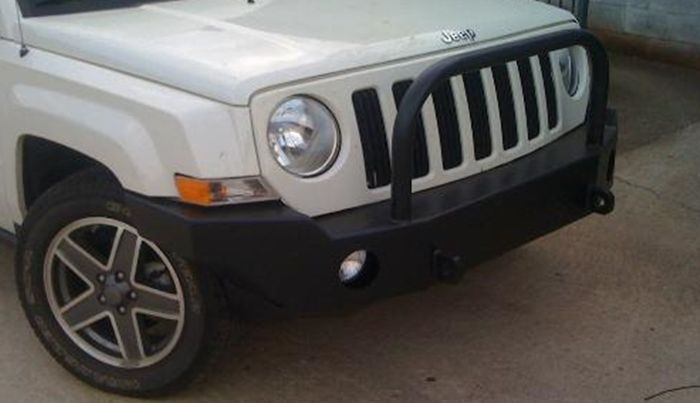 Front Winch Bumper Jeep Patriot All Years Bluelakeoffroad Winch Bumpers Jeep Patriot Jeep