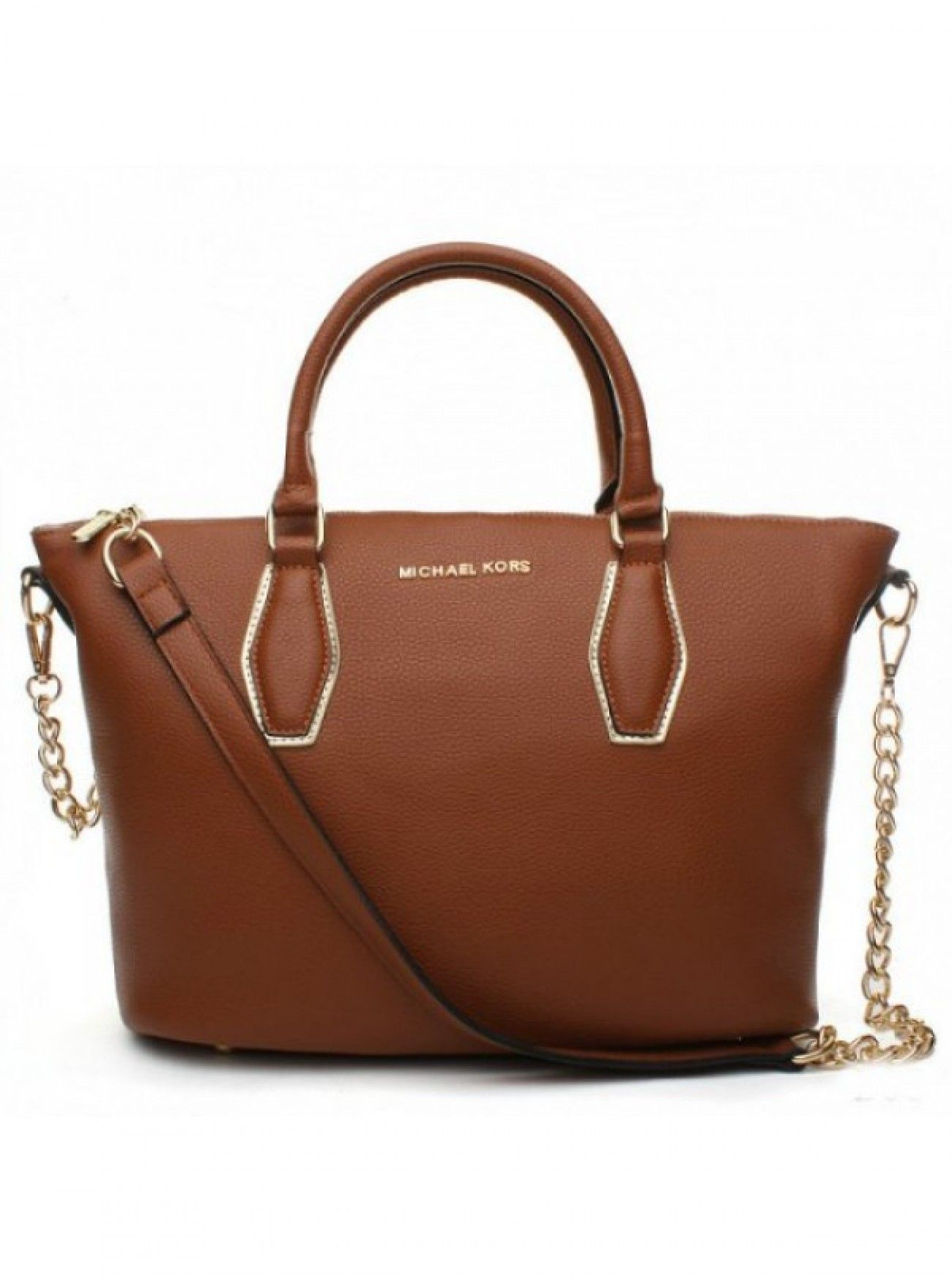2019 的 Online Michael Kors Brown Leather Shoulder Tote Canada Cheap ... 21a200e55b6f9