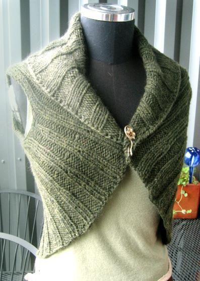 Circle Vest Aran Weight Aran Weight Yarn Knit Patterns And Patterns