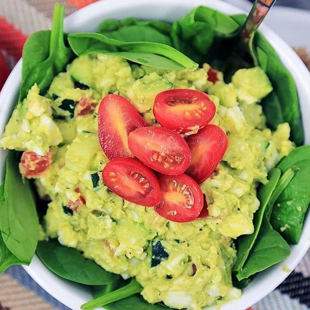 Dieser Avocado-Eiersalat ist wahrscheinlich das einfachste keto- und paläofreundliche Mittage…  – Weight Loss
