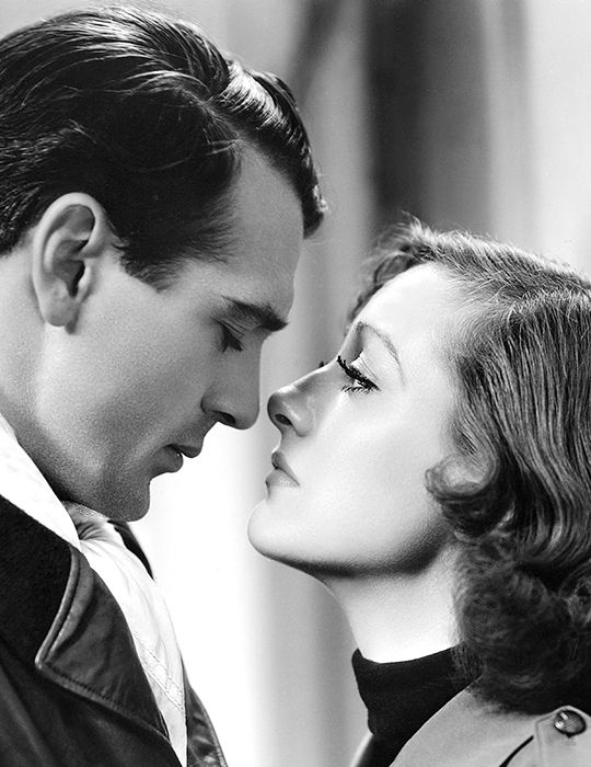 """deforest: """" Joan Crawford and Gary Cooper in Today We Live (1933) """""""