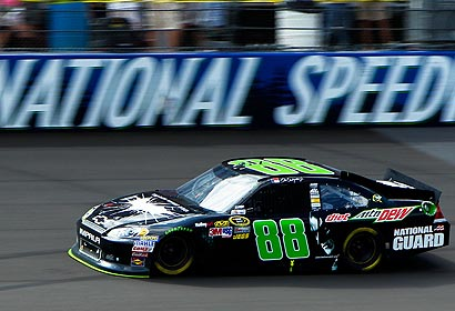 NASCAR Dale Earnhardt Jr. Wins Sprint Cup Dale Earnhardt