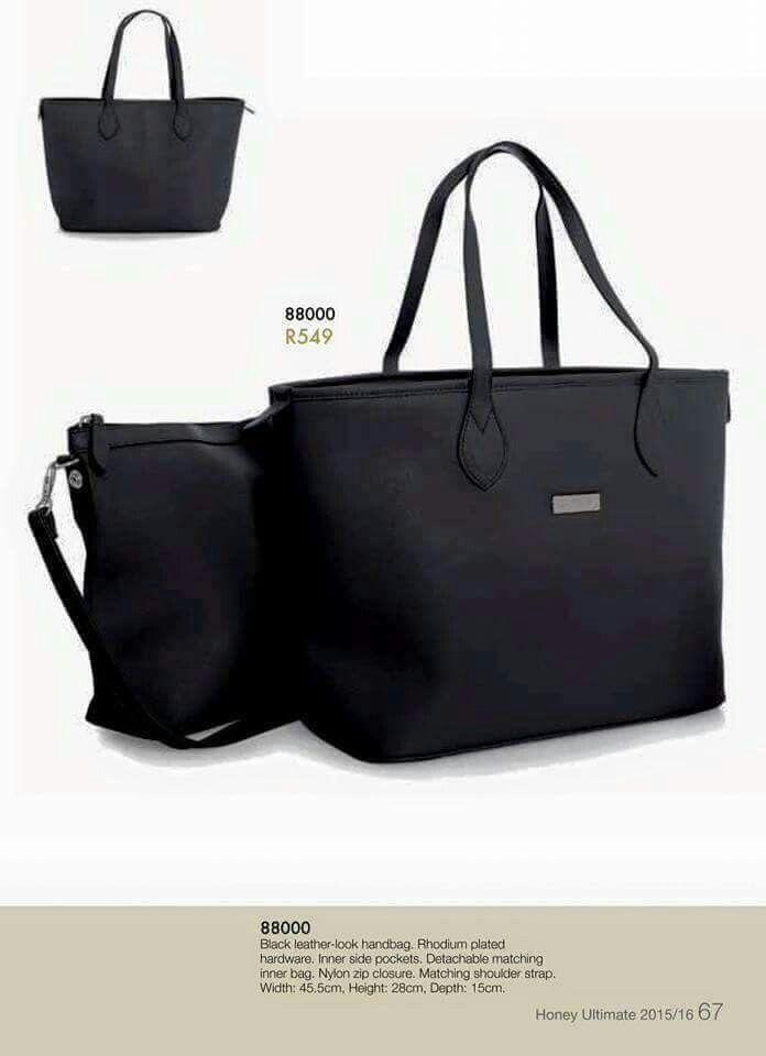Two In One Black Handbag Handbags Honey Things To