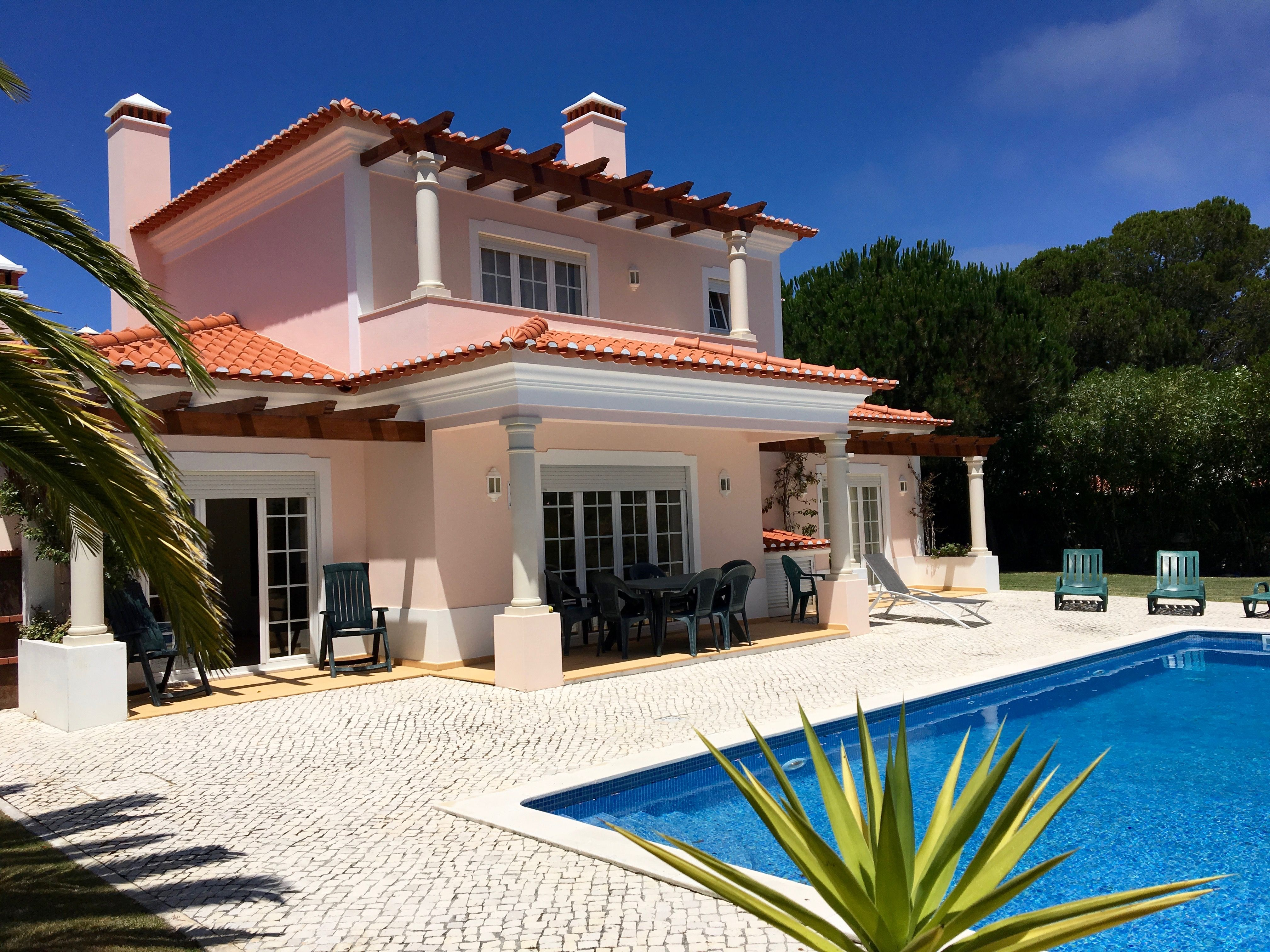 Villa Rosa, Peniche, Portugal. Very comfortable villa with access to resort amenities if you want them. Plenty of great beaches to visit and days out too discovering 'alternative' Portugal