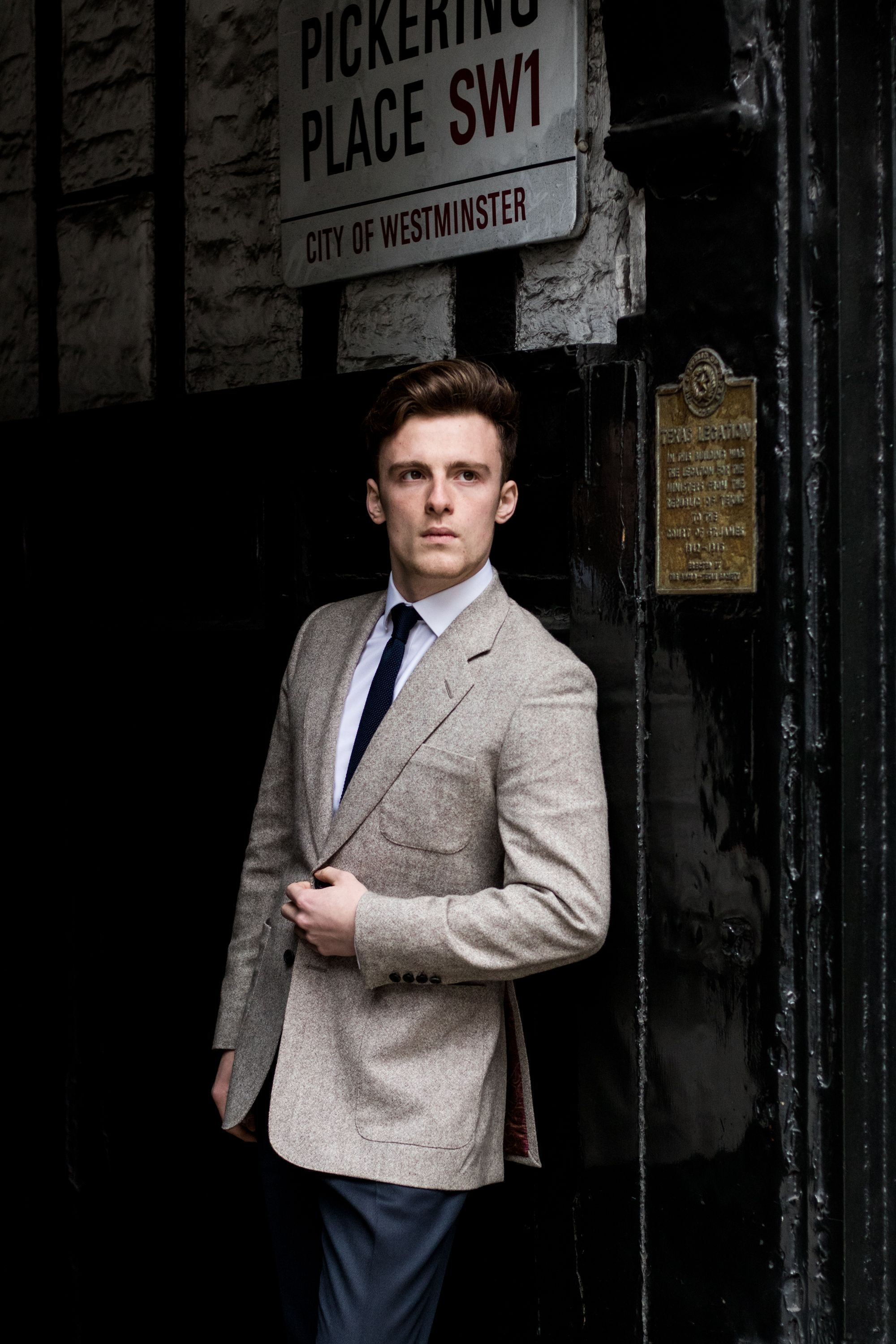 83bc30f69c4 Bespoke jacket by Cad & The Dandy. Buy bespoke suits, tailored shirts,  separates and men's accessories from Cad & The Dandy in London, New York  and ...
