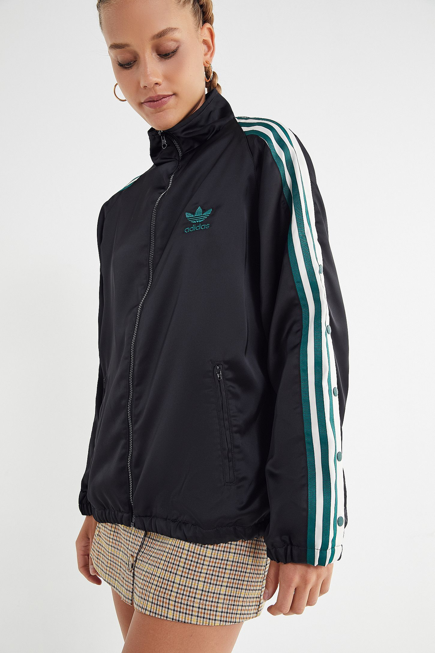 adidas Originals Adibreak Satin Track Jacket in 2019