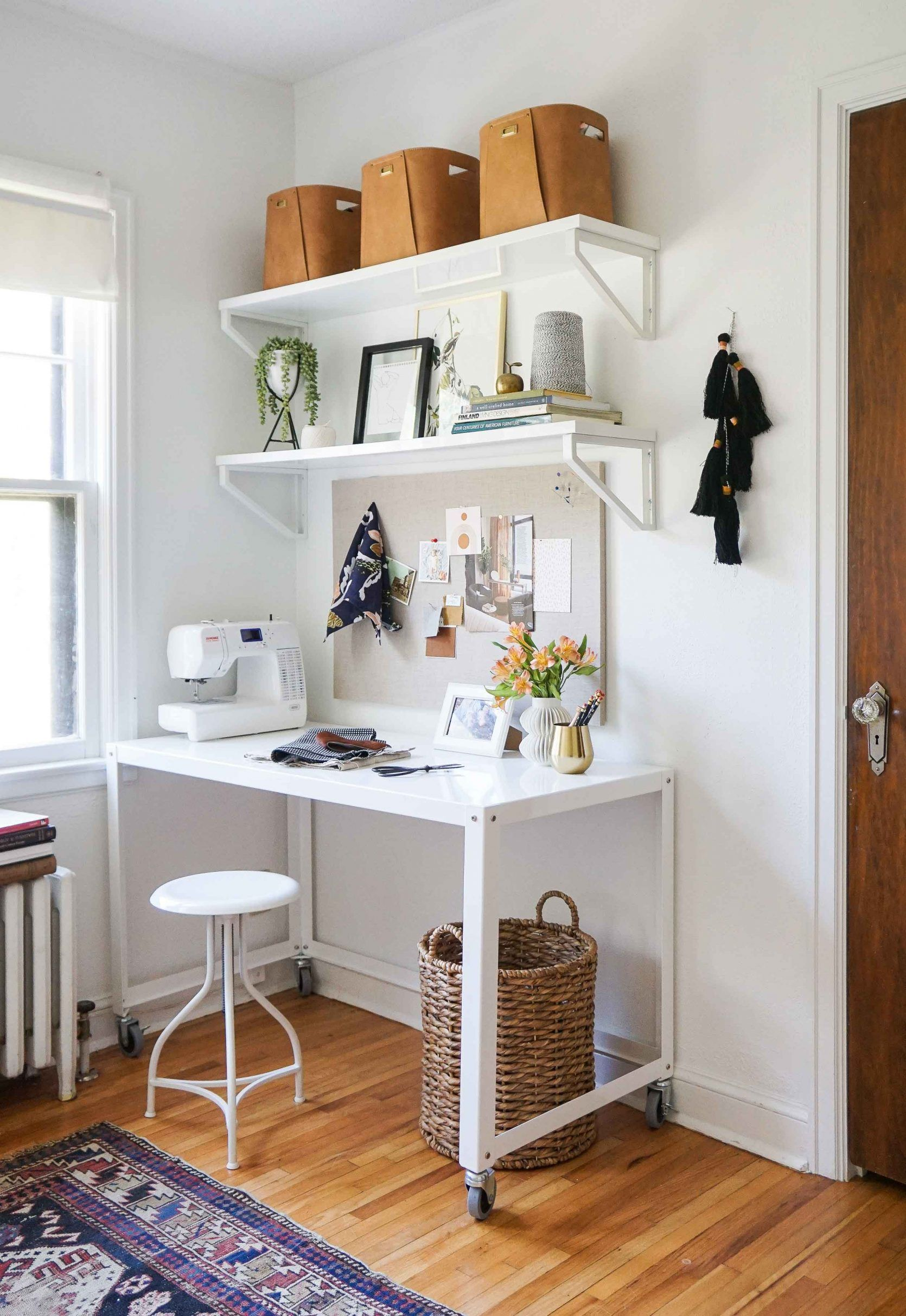 House Tour A Home Crush A Year In The Making Home Office