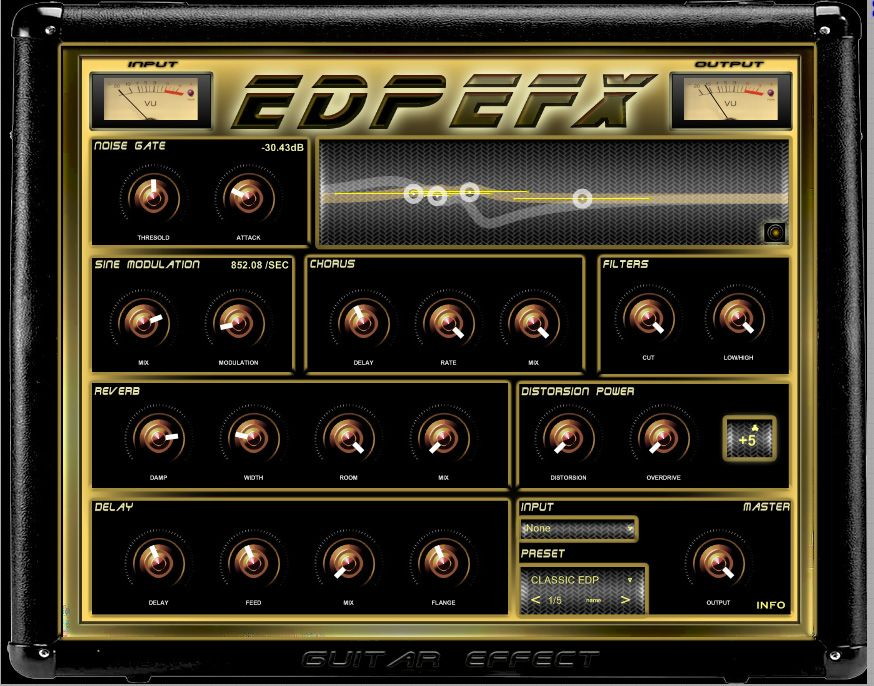 Edpefx Is A Special Fx For Your Guitar You Can Use It As Standalone Effect Or As A Plug In In Your Daw Http Www Vstplan Guitar Effects Guitar Music Studio
