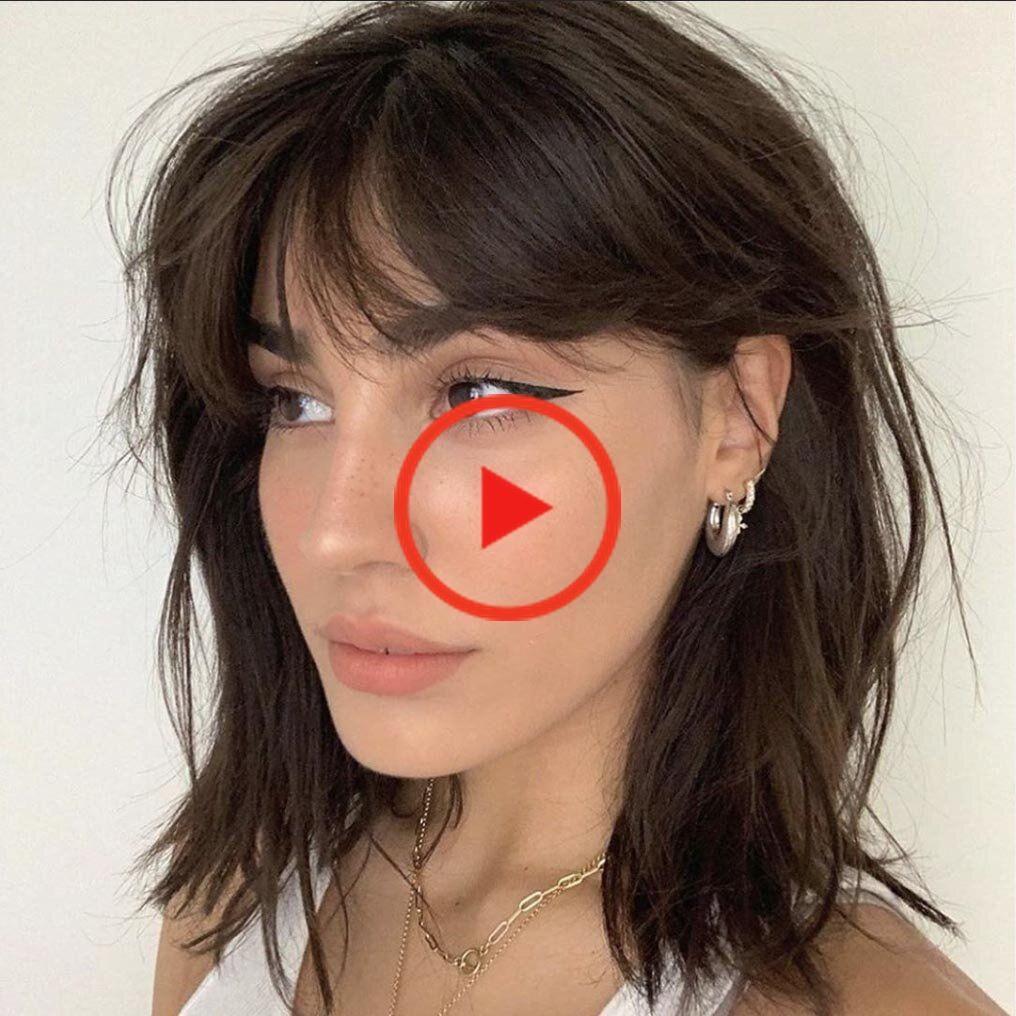 Pin On Short Hair Bangs