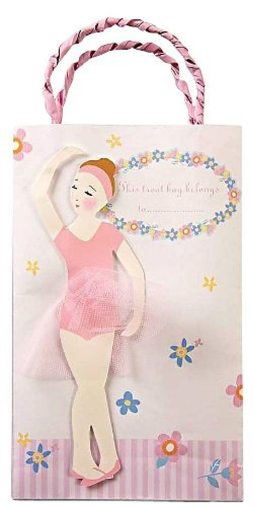 7aaf2ebf20c NEW Meri Meri Twinkle Toes Ballet Girl Party Bags - Set of 8 Shipping  Worldwide www.TheConsignmentBag.com
