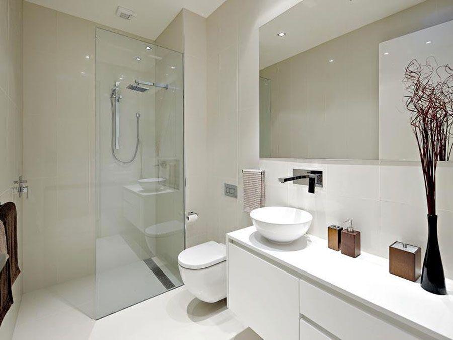 Bagno bianco idee di arredamento moderno ed elegante