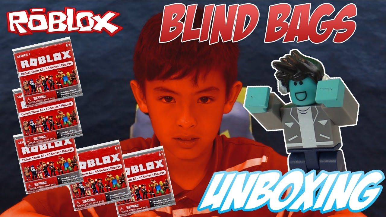 Roblox Series 1 Game Packs Unboxing Toy Review Roblox Mystery Blind Bags Unboxing Series 1 Opening Blind Bags Video Game Reviews Youtube