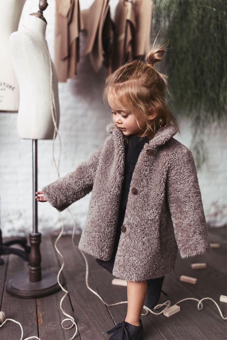 Image 4 Of Silk Dress With Ruffles Leather Derby Shoes From Zara Kidsfashion Mode Fur Kleine Madchen Kinder Kleider Stylische Kids