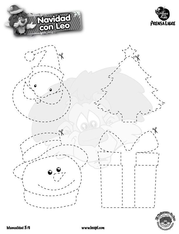 moldes de Navidad | Magnetos de navidadsingle_thumb | Navidad ...