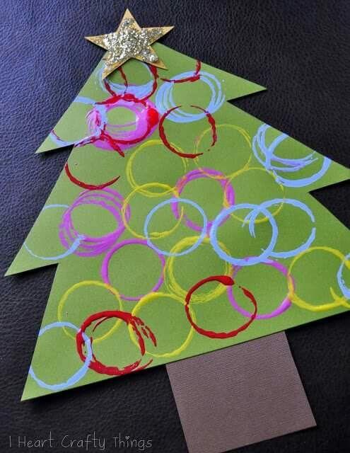 Christmas tree craft Daycare Pinterest Tree crafts, Christmas