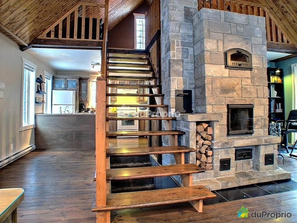 escalier foyer de masse cheminee en 2018 pinterest. Black Bedroom Furniture Sets. Home Design Ideas