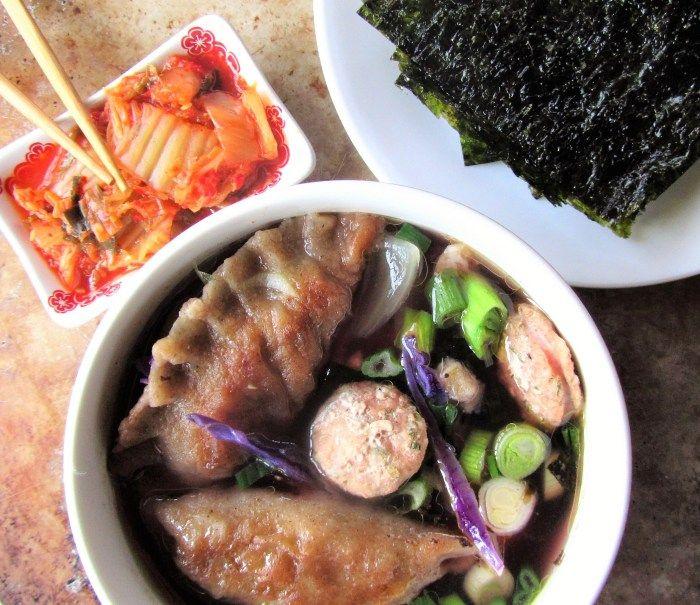 Korean Mandooguk Dumpling Soup (paleo, AIP)