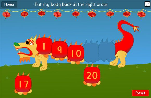 chinese dragon game ordering and sequencing numbers maths game chinesenewyear mathgames as. Black Bedroom Furniture Sets. Home Design Ideas
