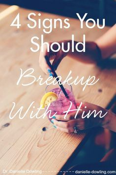 Signs Of A Breakup From Him