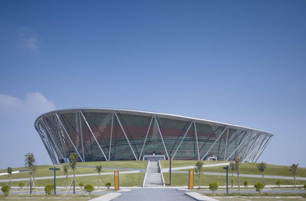 Gallery of Basketball Stadium in Dongguan / gmp