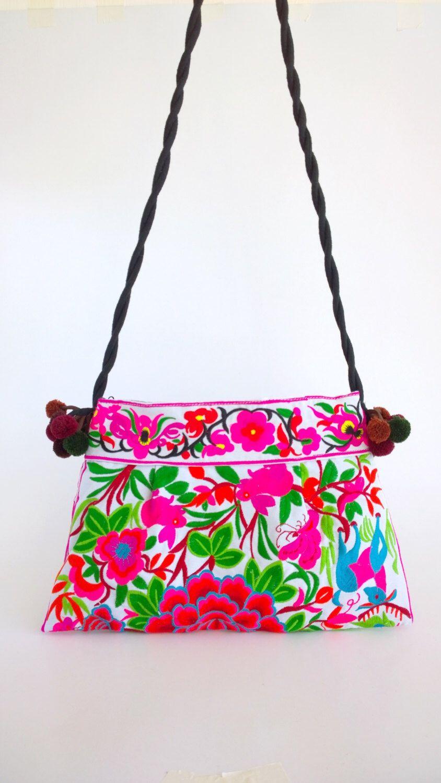 Hmong Ethnic Bag - Boho Crossbody Bag - Embroidery Bag ( FREE ...