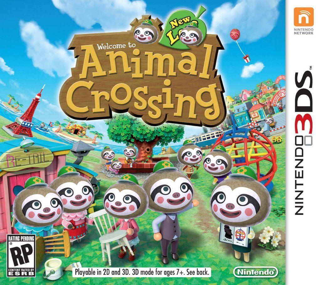 Animal Crossing New Leif Animal crossing 3ds, Animal