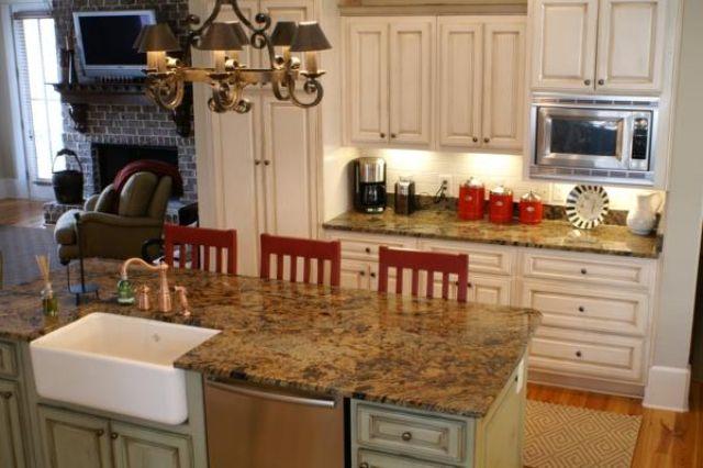 Lapidus Granite Countertops 2144 Lapidus Brown Alpharetta Georgia Kitchen Remodel Home Kitchens Kitchen