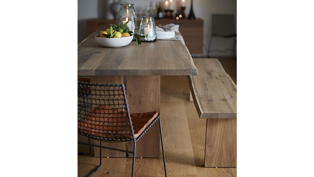 Shop Dakota Dining Tables The Subtle Grey Tones Are Achieved By
