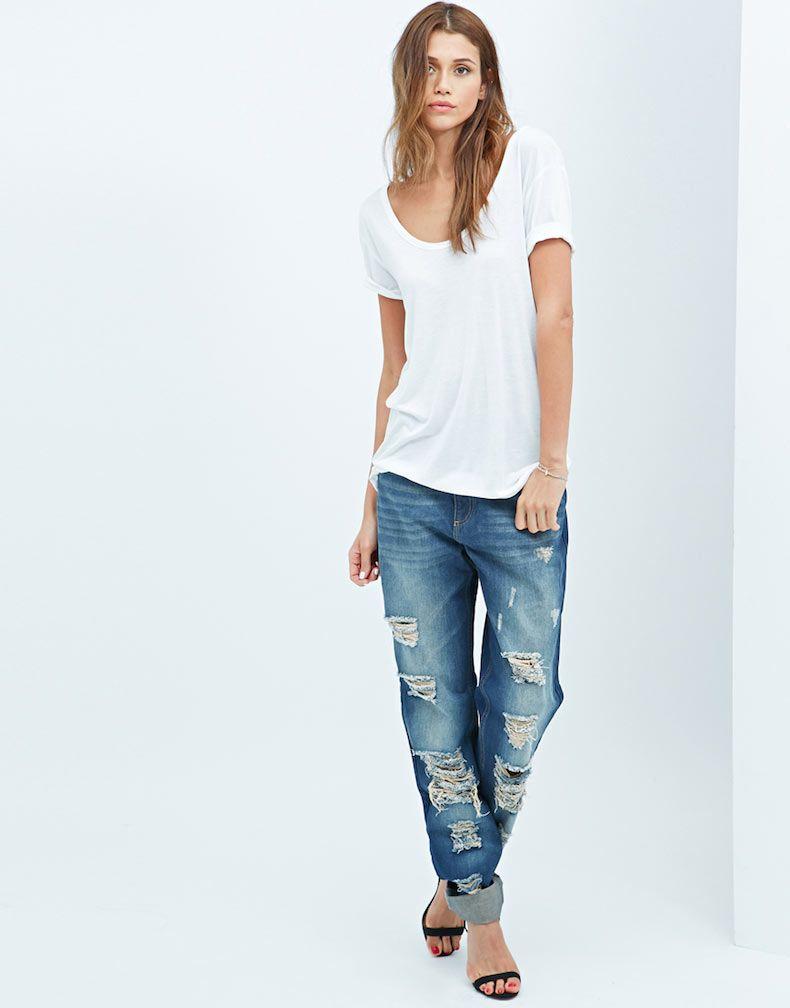 Long length boyfriend-jeans for tall girls | Tall Fashion ...