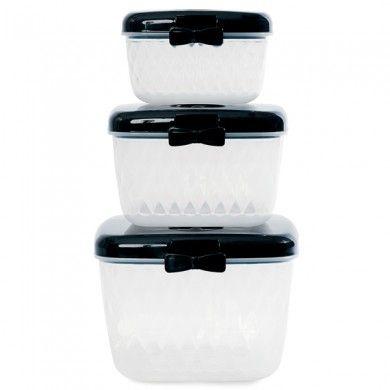 Lunch box Noeud x3
