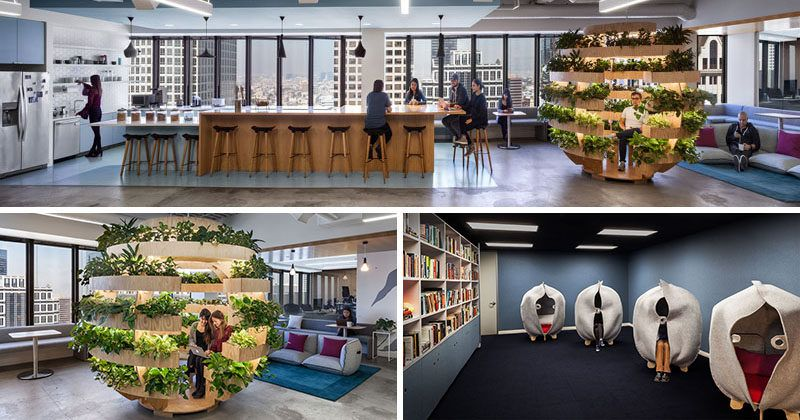 Kelly robinson has designed the los angeles office of - Interior design companies near me ...