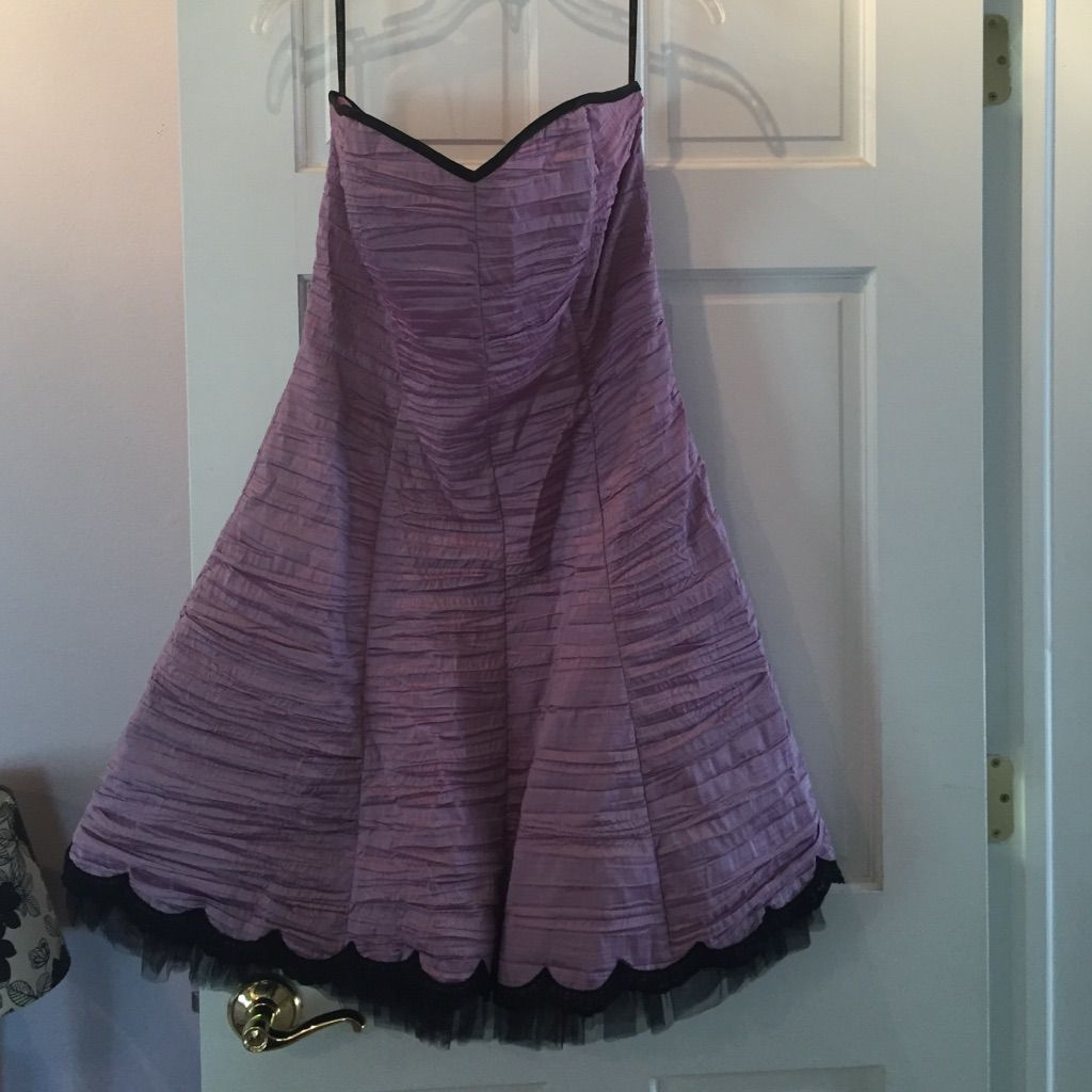 Wedding dresses with purple accents  Jessica Mcclintock Purple Ruched Dress  Products