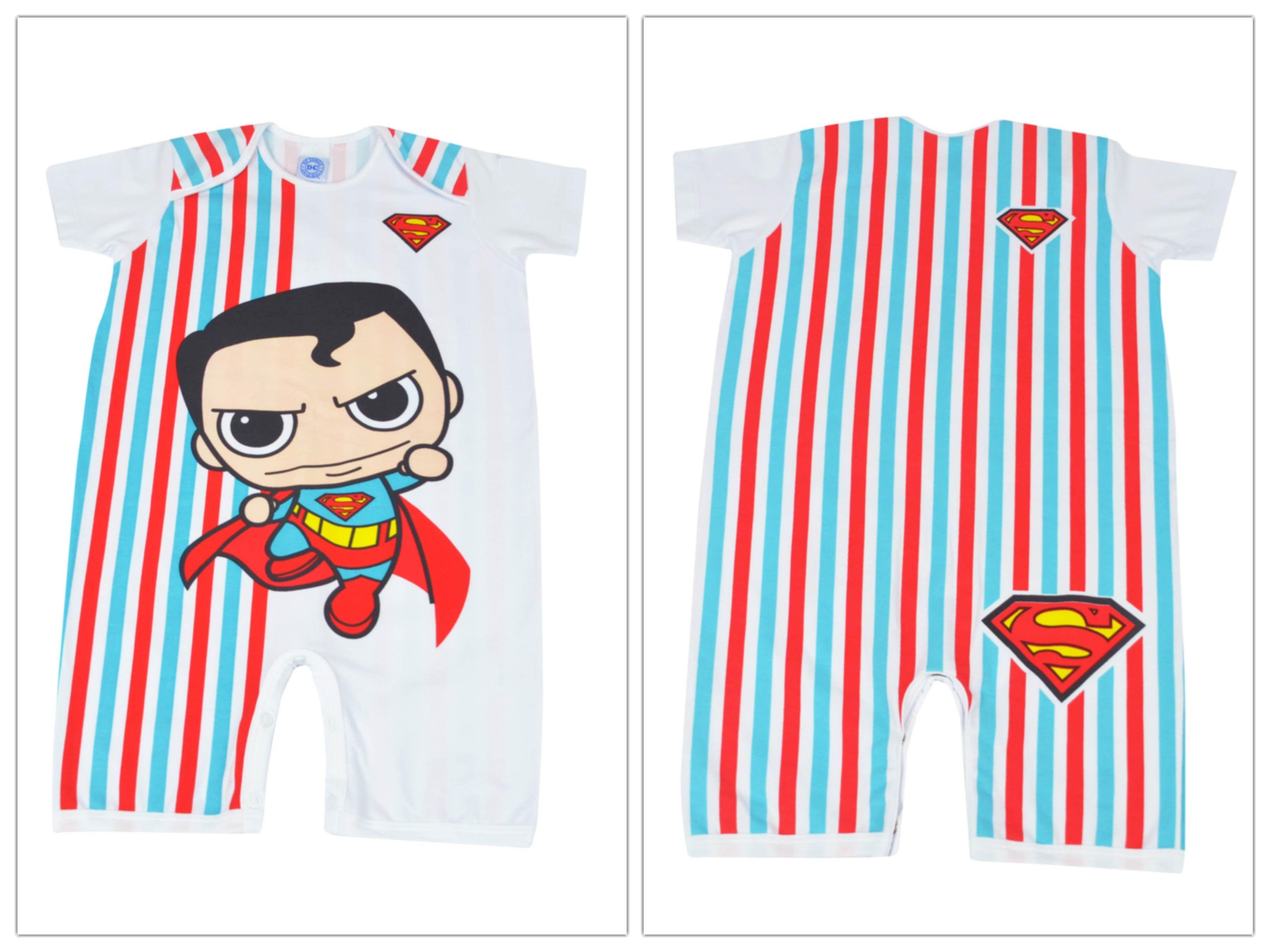 Macacão Curto Superman