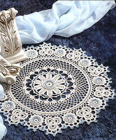 Renaissance Beauty Doily | Carpetas tejidas a gancho | Pinterest ...