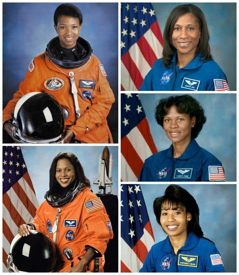 Black female astronauts